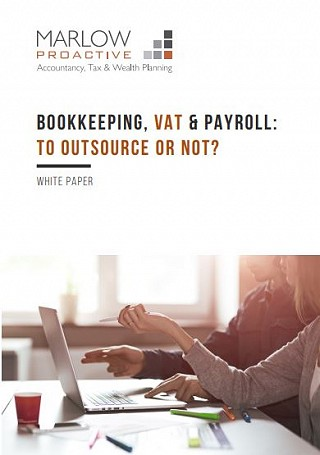 To Outsource or Not' Bookkeeping, VAT & Payroll Whitepaper